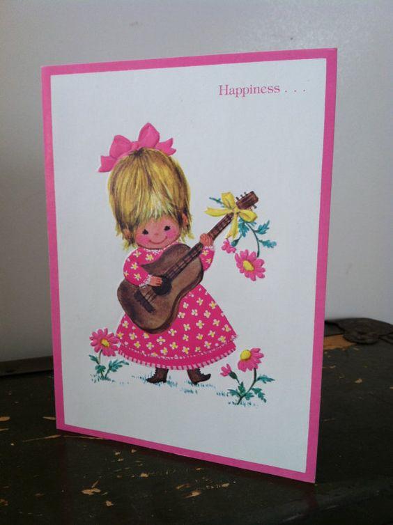 Vintage Feel Better Soon Embossed Greeting Card