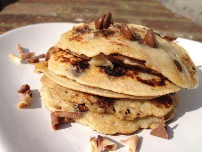 Cuisine Ma-Ligne!: Pancakes ww facon Bounty 5pp sans oeufs