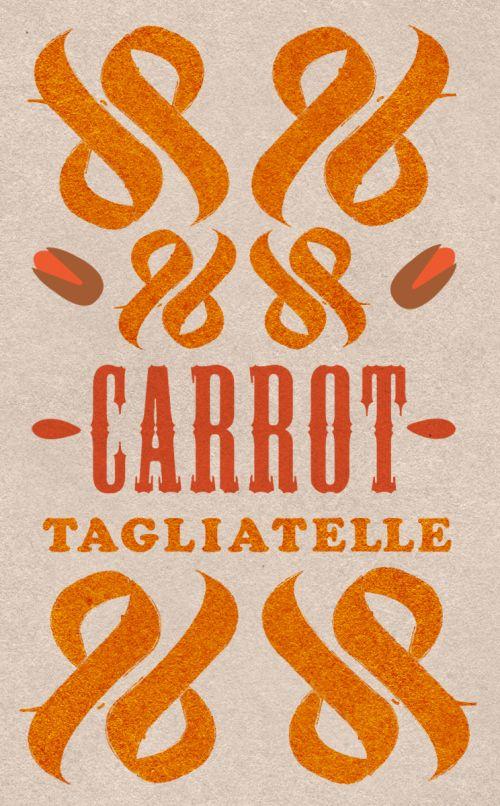 Carrot Tagliatelle by Faris Habayeb