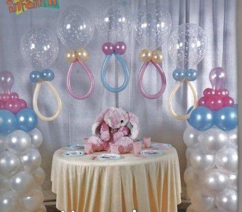 Como-decorar-con-globos-un-Baby-Shower