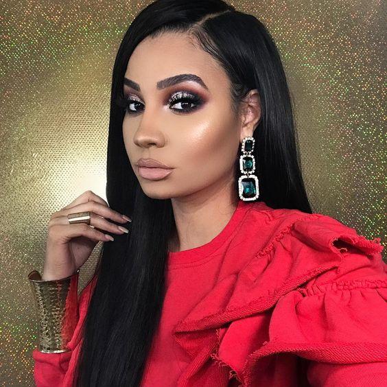 2019 Makeup Ideas for Dark Skin Women