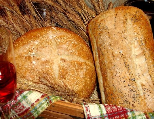 French Hearth Bread Recipe With Images Hearth Bread Recipe Recipes Bread