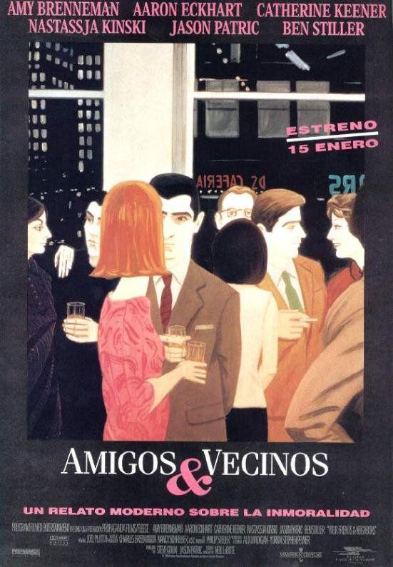 Amigos Y Vecinos 1998 Carteles De Cine Carteles De Peliculas Cartel Cinematografico