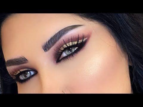 مكياج ذهبي كت كريس سناب ميثاء عبدالجليل Youtube Makeup Nose Ring Make Up