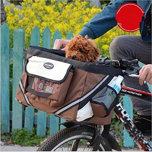Yosoo Portable Pet Dog Bicycle Basket Case Pet Dog Bicycle Carrier