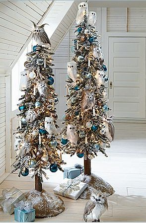 OWL Christmas trees!   Oh my!!!!!: