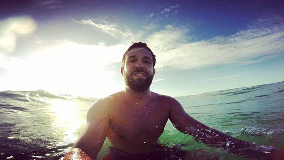 Check out our Surf clothing here! http://ift.tt/1T8lUJC Água salgada que acalma!  #gopro #surf #pdd #surflife #sunset #mardocelar
