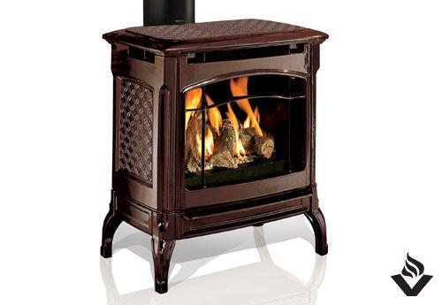 Hearthstone Champlain Free Standing Fireplace Vancouver Gas Fireplaces Gas Fireplace Hearthstone Standing Fireplace