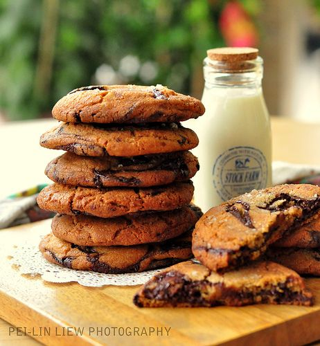 The New York Times Chocolate Chip Cookies | Baking | Pinterest | New ...