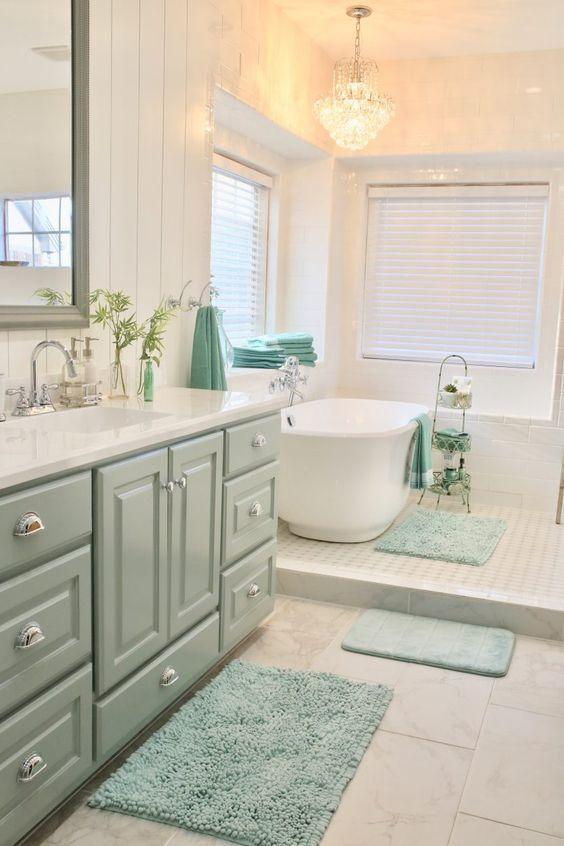 30 Beautiful Country Bathroom Ideas 2020 You Should Try Dovenda Country Bathroom Cottage Style Bathrooms Bathroom Inspiration