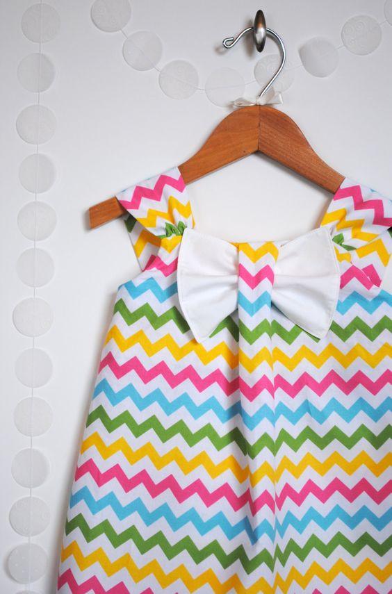 Girls Big Bow Dress=.