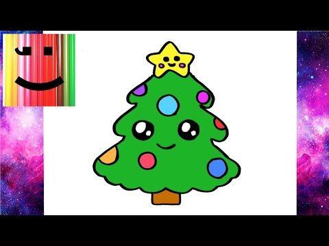 Comment Dessiner Un Cadeau De Noël Kawaii Youtube Kawaii