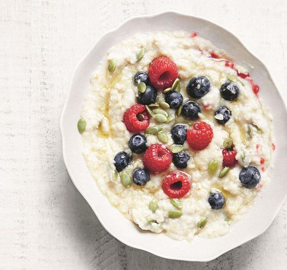 Deliciously Ella's Ella Woodward says this is the world's best porridge.
