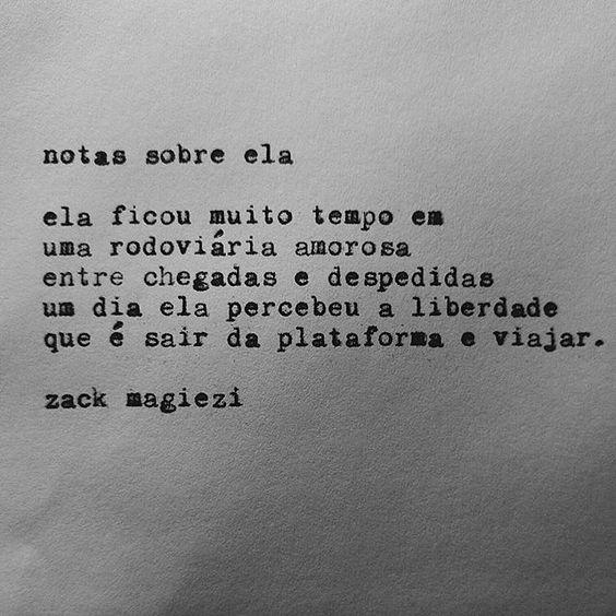 Mochileira?  #notassobreela  #zackmagiezi: