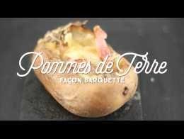 Pommes de terre façon Barquette