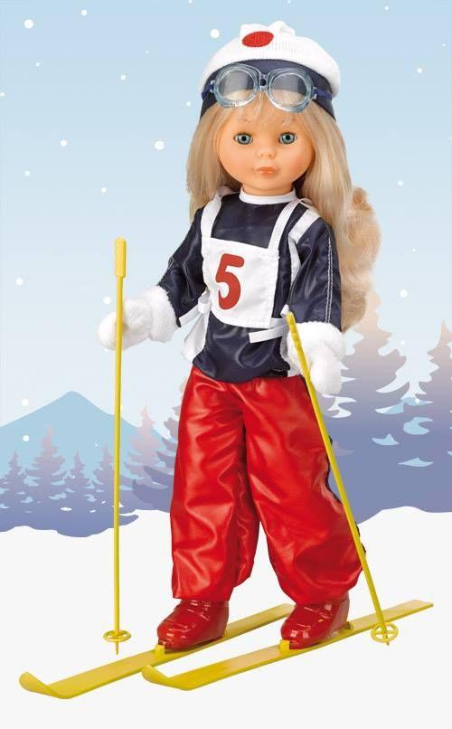 Nancy Esquiadora,adorava-a!