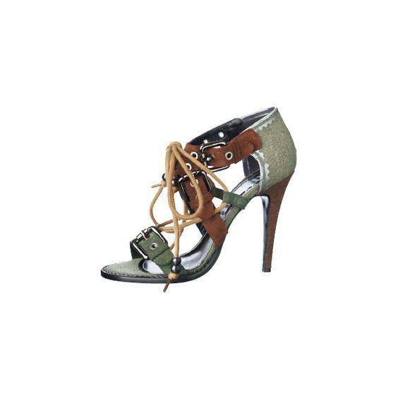 GALLIANO 靴&バッグのカタムグ検索 | VOGUE.COM by None, via Polyvore
