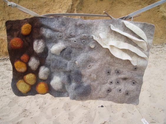 licheni: Feltro Ad, Felt Deco, Felt Projects, Altro Handmade, Fabulous Felt, Felt Art, Handmade Felt, My Works