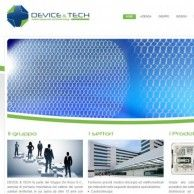 Website created for Device and Tech - Company specializing in the distribution of medical devices, instruments and electrical equipment for different surgical procedures