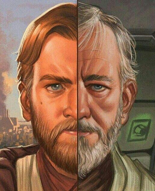 Young Old Obi Wan Kenobi Bonne Image