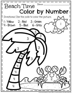 Summer Preschool Worksheets Planning Playtime Summer Preschool Preschool Worksheets Summer Worksheets