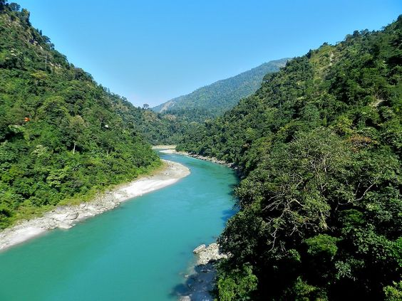 Teesta River, India