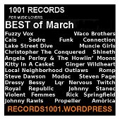 MIXTAPE BEST RECORDS MARCH 2016 https://records1001.wordpress.com/