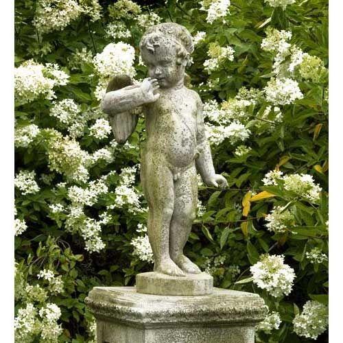garden statue...