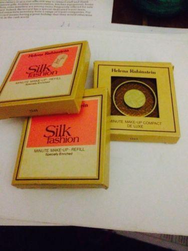 vintage helena rubinstein silk fashion minute make up. Black Bedroom Furniture Sets. Home Design Ideas