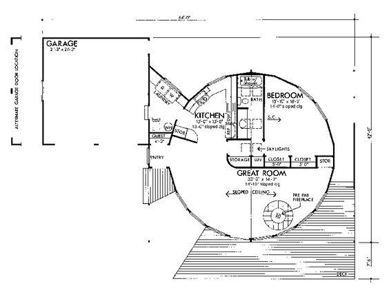 ROUND Home Plan! - Plan #072D-0772 | houseplansandmore.com