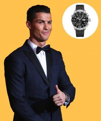 Watch & Learn: Cristiano Ronaldo's Tag Heuer
