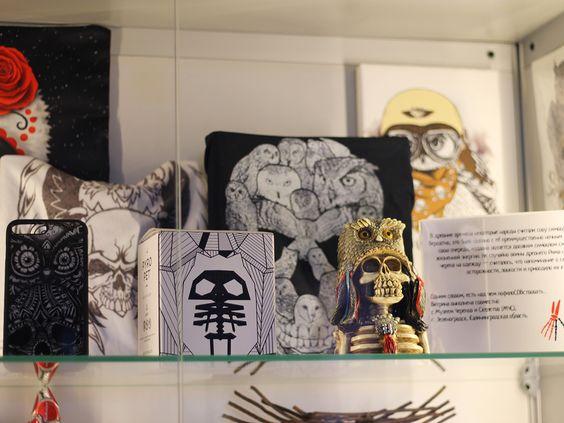 Совы - скелеты