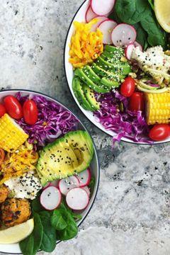 Gesundes Abendessen: Buddha Bowl