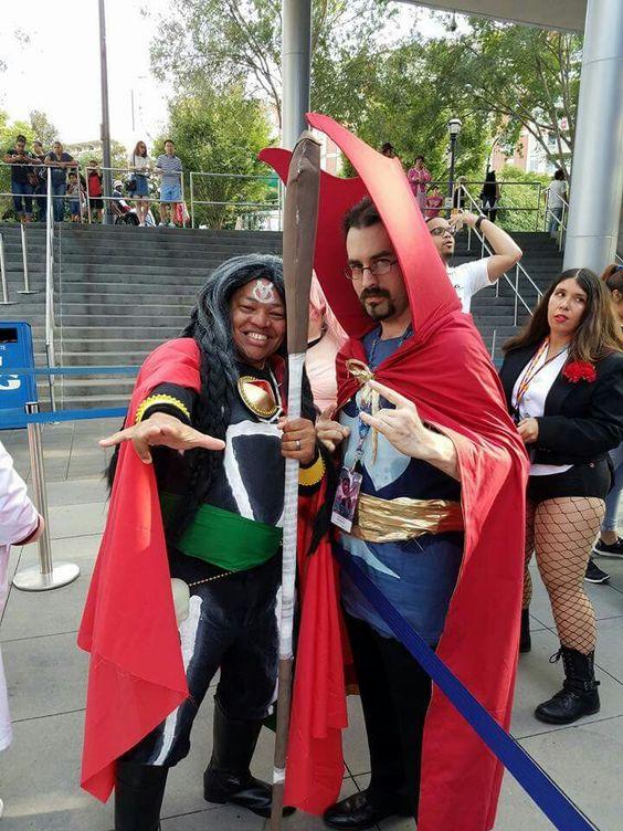 Doctor Voodoo & Doctor Strange at DragonCon 2016