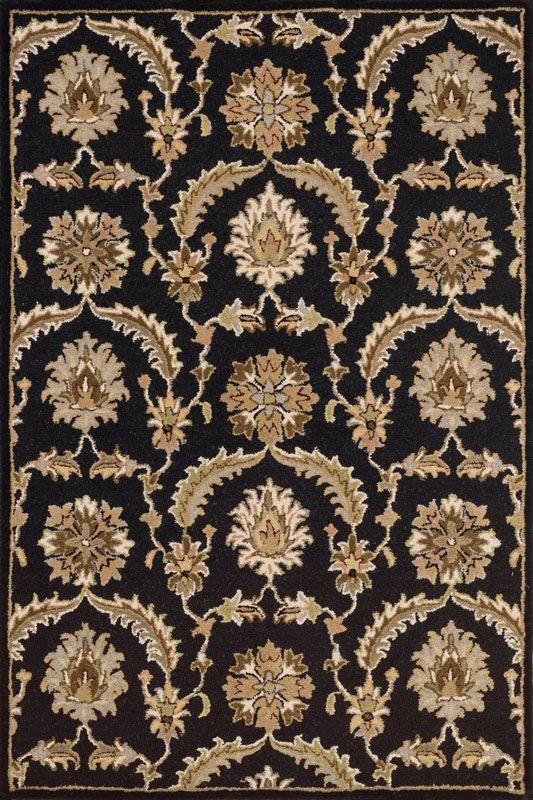Loloi Rugs Ashford 03BLML Hand Tufted Wool Traditional Area Rug