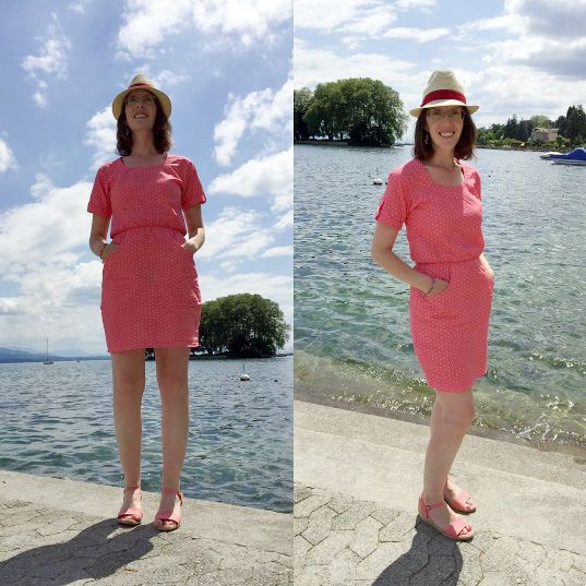 Ailsa's Bettine dress - sewing pattern by Tilly and the Buttons