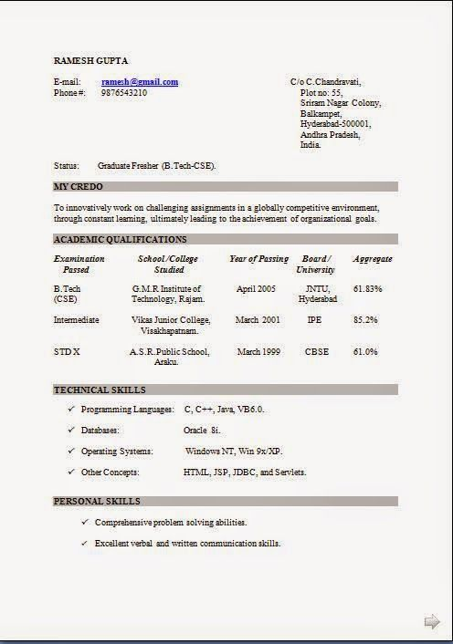 make a resume for   online download free excellent cv   resume    make a resume for   online download free excellent cv   resume   curriculum vitae   career objective  amp  work experience for b tech cv freshers