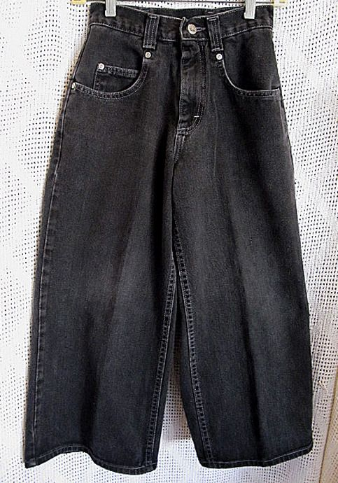 eBay Ad) VTG 90's WOMENS GIRLS LEE PIPES BLACK HIGH WAIST