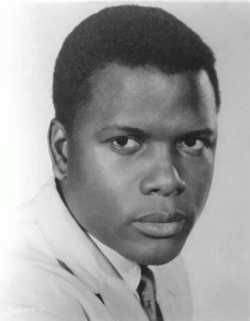 """Sidney Poitier excellent actor, he was Mr Tibbs in """"To Sir With Love"""" 1967 I believe his first movie was """"Black Board Jungle"""" with Glen Ford. 1955"""