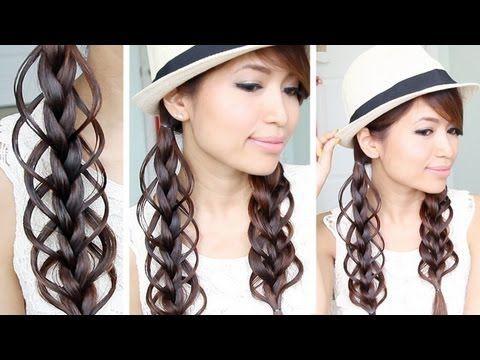 Fine Braids Hair Tutorials And Braid Hair Tutorials On Pinterest Hairstyles For Men Maxibearus