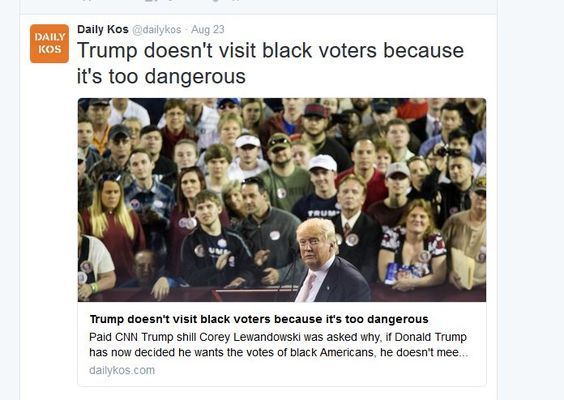 http://www.dailykos.com/story/2016/08/23/1563109/-Lewandowski-Trump-doesn-t-visit-black-voters-because-it-s-too-dangerous