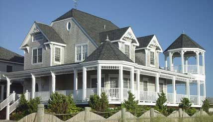 Victorian style houses have charm of yesteryear house for Beach house designs with wrap around porch