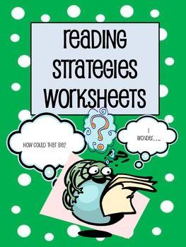 Reading Strategies Worksheet Photos - pigmu