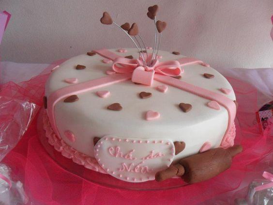 Este foi o meu bolo do chá de cozinha!