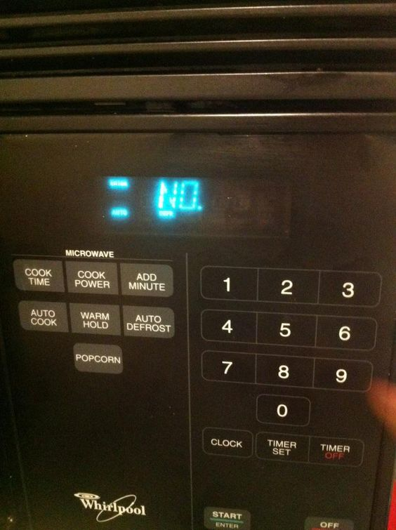 Oh. Well. I guess I won't be using the microwave then - Imgur: