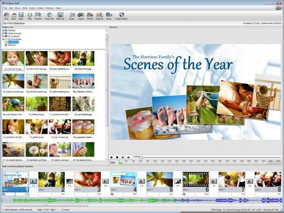 Photodex ProShow Gold Screenshot