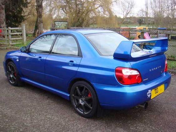 2003 #Subaru #Impreza 2.0 WRX AWD Turbo 4dr Saloon. Petrol. Blue. Click for loads more. £3,995