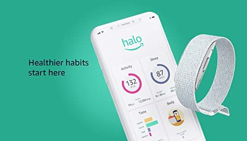 Introducing Amazon Halo Health Wellness Band And Membership Winter Silver Medium Amazon Body Composition Healthy Habits Activities Activity Tracking