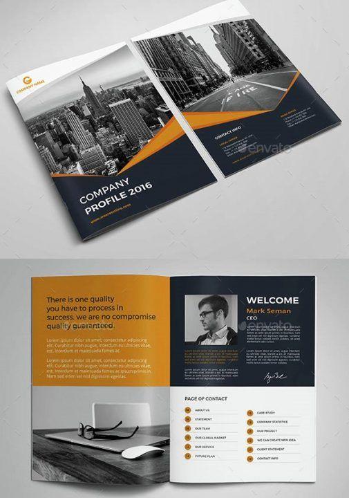 Company Profile Design Templates Desain Profil Perusahaan Brosur Perusahaan Desain Brosur Perusahaan