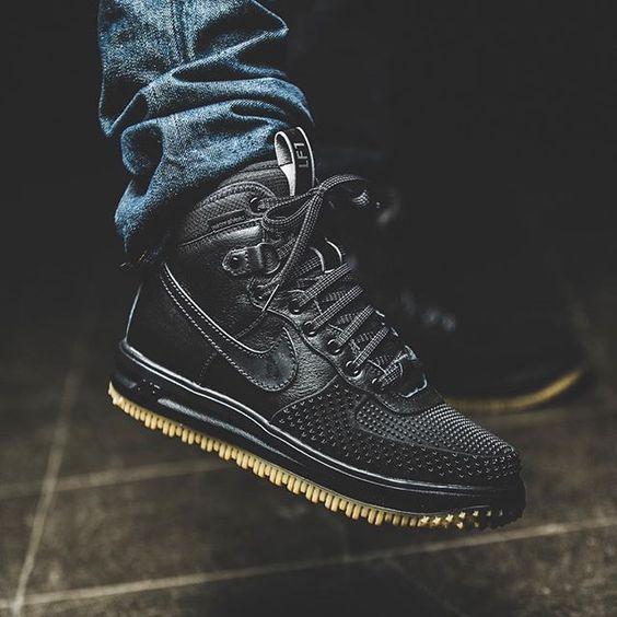 Nike Lunar Force 1 Duckboot (black) - 43einhalb Sneaker Store Fulda